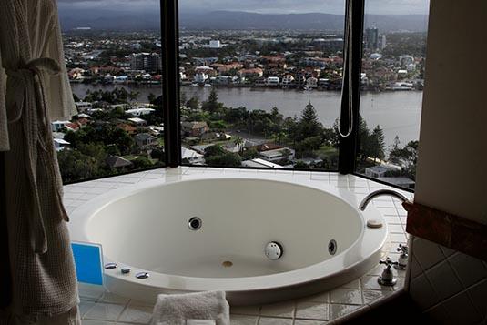 A Bathroom Marriot Resort Spa Surfers Paradise Gold Coast Australia