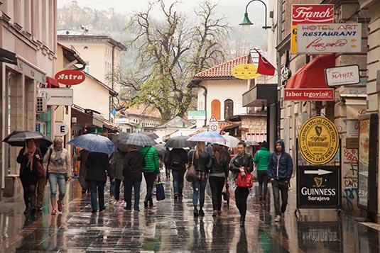 Sarajevo Bosnia Herzegovina Travel Experience Post