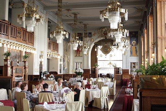 French Restaurant Municipal House Prague Czech Republic