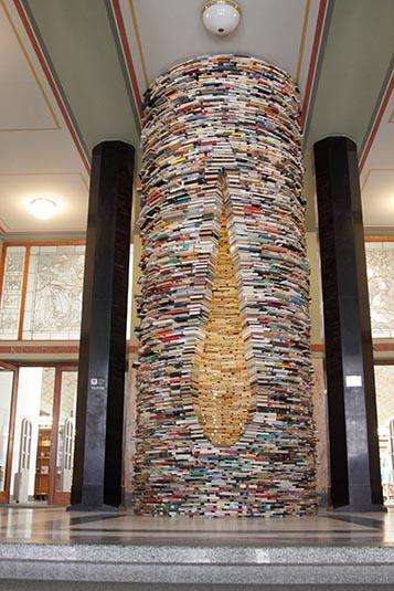 http://www.yogoyo.com/czech-republic-travel-guide/prague-city-photos/idiom-a-well-made-of-books-created-by-matej-kren-municipal-library-prague-czech-republic.jpg