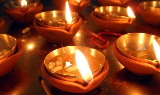 oil lamps diwali pune