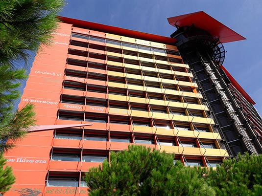 Silken puerta america hotel madrid spain - Silken puerta america madrid ...