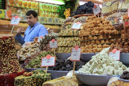 At The Spice Bazaar Istanbul
