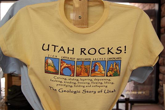 Gift Shop, Zion Visitor Center, Zion National Park, Utah, USA